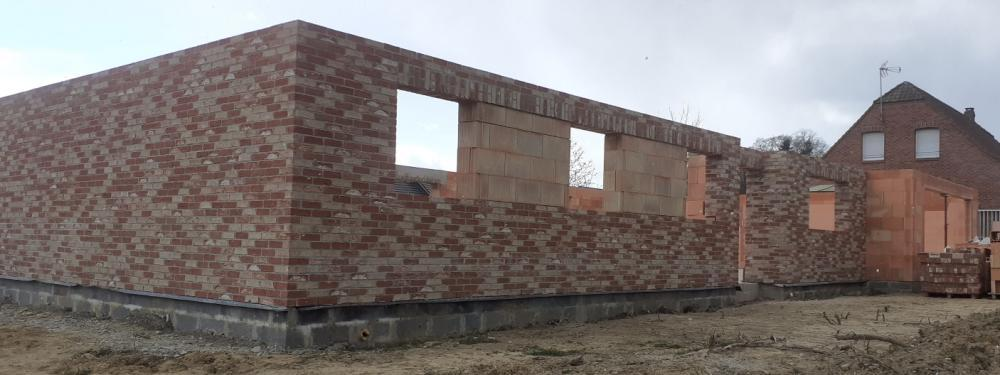 Construction de maison plain pied à Maubeuge